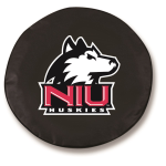 Northern Illinois Huskies Black Spare Tire Cover By HBS