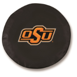 Oklahoma State Cowboys Black Spare Tire Cover By HBS