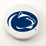Penn State Nittany Lions White Tire Cover By HBS