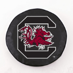 South Carolina Gamecocks Black Spare Tire Cover By HBS