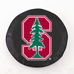 Stanford Cardinals Black Spare Tire Cover By HBS