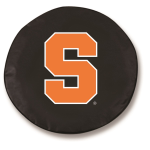 Syracuse Orangemen Black Spare Tire Cover By HBS