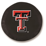 Texas Tech Red Raiders Black Tire Cover By HBS