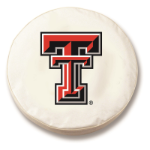 Texas Tech Red Raiders White Tire Cover By HBS