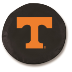 Tennessee Volunteers Black Spare Tire Cover By HBS