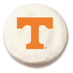 Tennessee Volunteers White Spare Tire Cover By HBS