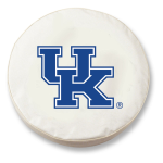 Kentucky Wildcats White Spare Tire Covers By HBS