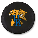 Kentucky Wildcats Black Spare Tire Cover By HBS