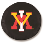 Virginia Military Institute Black Spare Tire Cover By HBS
