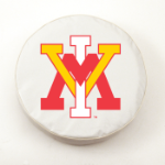 Virginia Military Institute White Spare Tire Cover By HBS