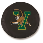 Vermont Catamounts College Black Spare Tire Cover By HBS