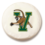 Vermont Catamounts College White Spare Tire Cover By HBS