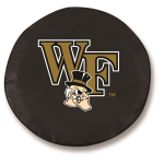Wake Forest Demon Deacons Black Tire Cover By HBS