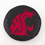 Washington State Cougars Black Spare Tire Cover By HBS