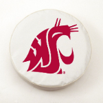 Washington State Cougars White Tire Cover By HBS