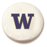 Washington Huskies White Spare Tire Cover By HBS