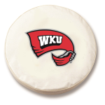 Western Kentucky Hilltoppers White Spare Tire Cover By HBS
