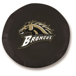 Western Michigan Broncos Black Spare Tire Cover By HBS