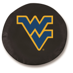 West Virginia Mountaineers Black Spare Tire Cover By HBS