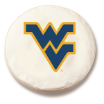 West Virginia Mountaineers White Tire Cover By HBS