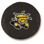 Wichita State Shockers Black Spare Tire Cover By HBS