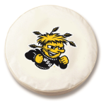 Wichita State Shockers White Tire Cover By HBS