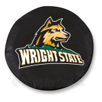 Wright State Raiders Black Spare Tire Cover By HBS