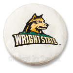 Wright State Raiders White Spare Tire Cover By HBS