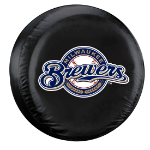 Milwaukee Brewers MLB Tire Cover