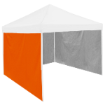 Plain Carrot Orange Tent Side Panel - Logo Brand