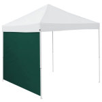 Plain Hunter Green Tent Side Panel - Logo Brand