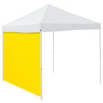 Plain Lemon Yellow Tent Side Panel - Logo Brand