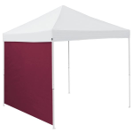 Plain Maroon Red Tent Side Panel - Logo Brand