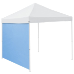 Plain Powdered Blue Tent Side Panel - Logo Brand