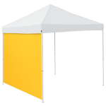 Plain Yellow Tent Side Panel - Logo Brand