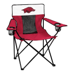 Arkansas Elite Chair w/ Razorbacks Logo