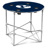 Brigham Young Cougars Round Tailgating Table