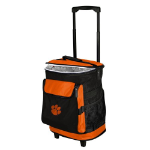 Clemson Rolling Cooler w/ Tigers Logo - 24 Cans