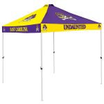 East Carolina Tent w/ Pirates Logo - 9 x 9 Checkerboard Canopy