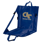Georgia Tech Stadium Seat w/ Yellow Jackets Logo - Cushioned Back