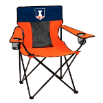 Illinois Elite Chair w/ Fighting Illini Logo