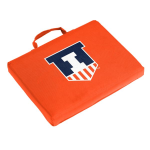 Illinois Seat Cushion w/ Fighting Illini logo