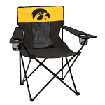 Iowa Elite Chair w/ Hawkeyes Logo