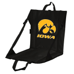 Iowa Stadium Seat w/ Hawkeyes Logo - Cushioned Back