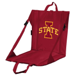 Iowa State Stadium Seat w/ Cyclones Logo - Cushioned Back