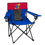 Kansas Elite Chair w/ Jayhawks Logo