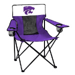 Kansas State Elite Chair w/ Wildcats Logo