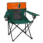 Miami Elite Chair w/ Hurricanes Logo