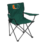 Miami Quad Chair w/ Hurricanes Logo