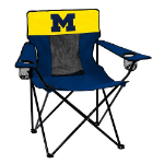 Michigan Elite Chair w/ Wolverines Logo